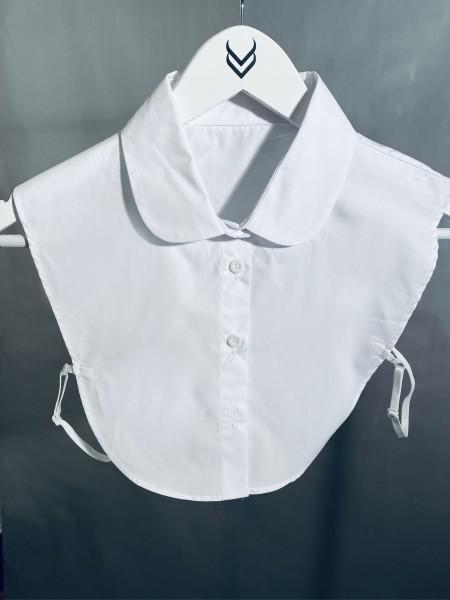 Bluseneinsatz - Blusenkragen weiß