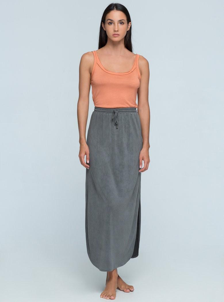 Buddha Wear: Modell 'Paige Skirt - Vintage Grey'