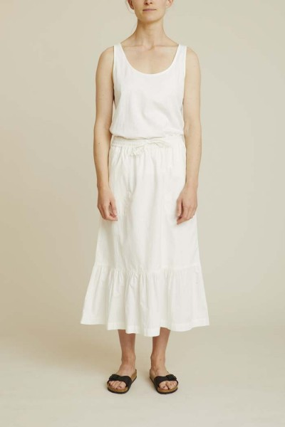 Basic Apparel: Modell 'Vilde Skirt - White'