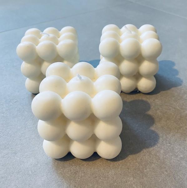 Bubble Kerze - Off White