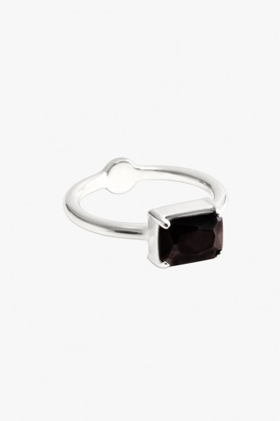 Baguette Ring - Silver
