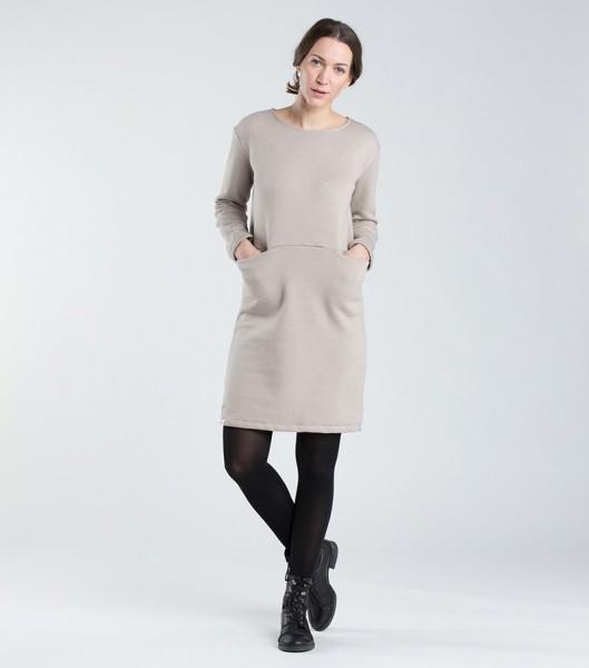 [eyd]: Modell 'Kleid Kaitha - Beige'