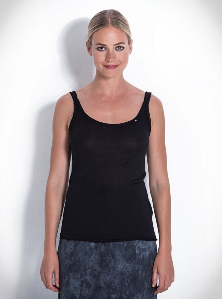 Buddha Wear: Modell 'Aretha Top - Black'
