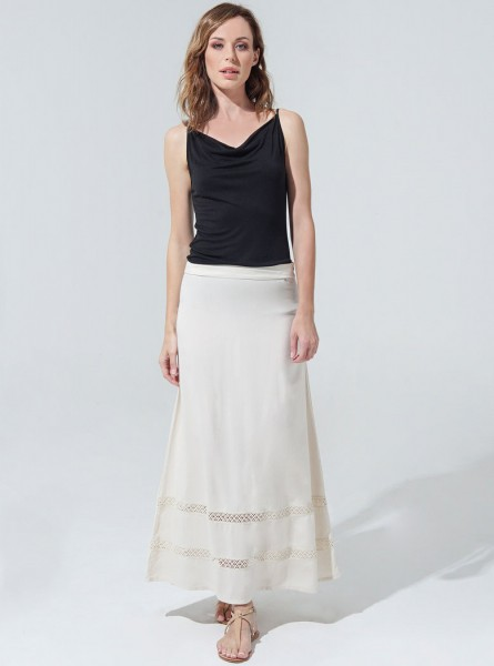 Filippa Skirt - Nude