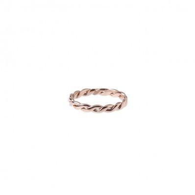 Volume Single Ring - Roségold