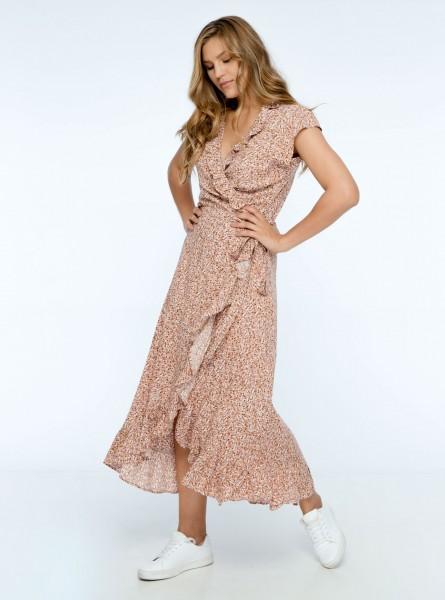 Buddha Wear: Modell 'Paloma Maxi Dress - Blush Floral'