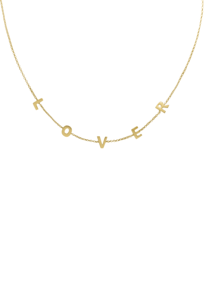 Lover Necklace - Gold
