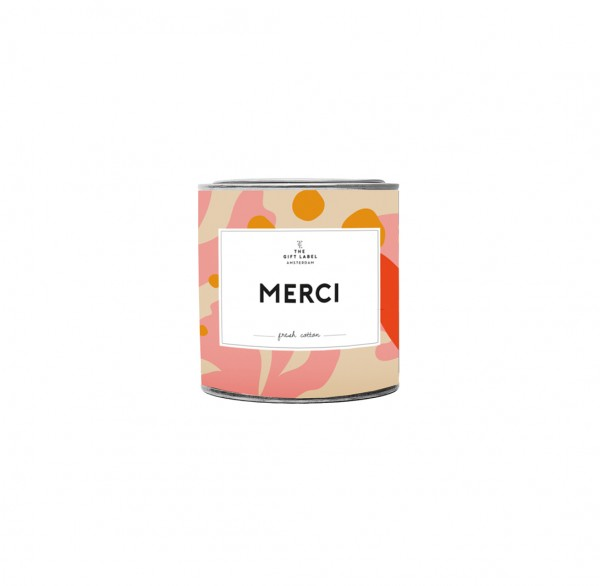 The Gift Label: Modell 'Candle - Merci'
