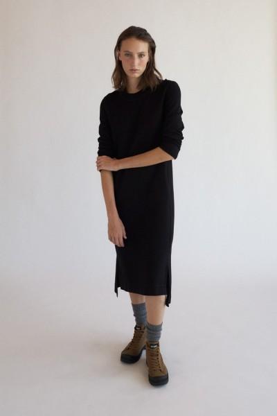Ecoalf: Modell 'Tahoe Dress - Black'