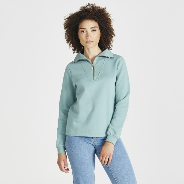 Stoffbruch: Modell 'Vera Sweater - Mint'