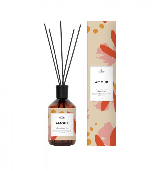 The Gift Label: Modell 'Reed Diffuser - Amour'