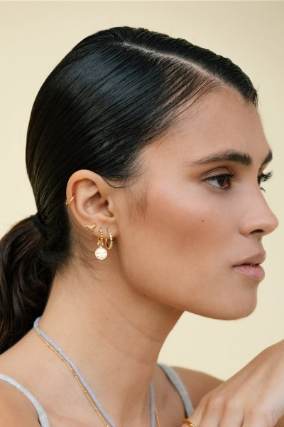 Wildthings: Modell 'Mermaid stud gold plated'