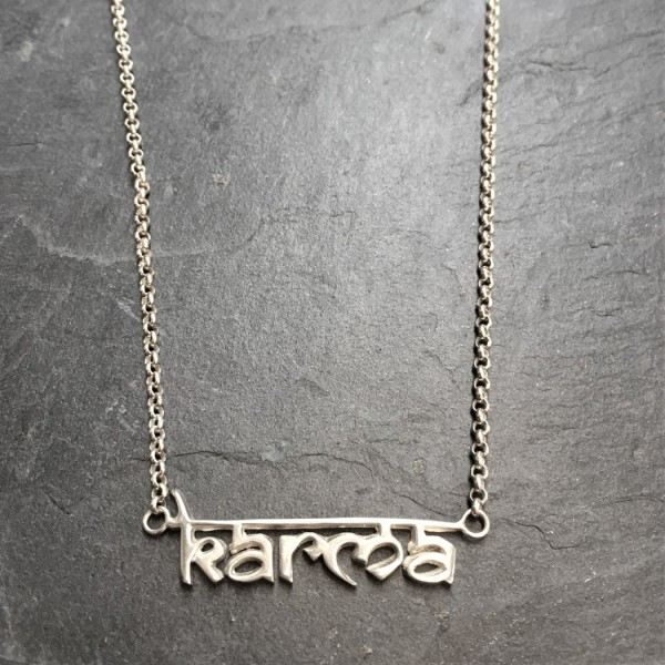 Kali Karma Necklace - Silver