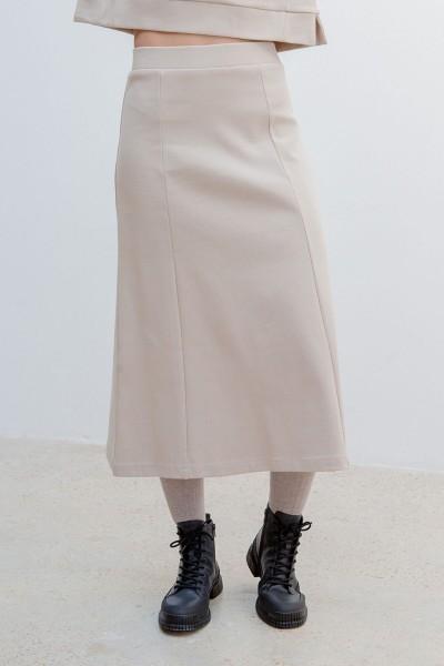 Suite 13: Modell 'Ross Skirt - Stone'