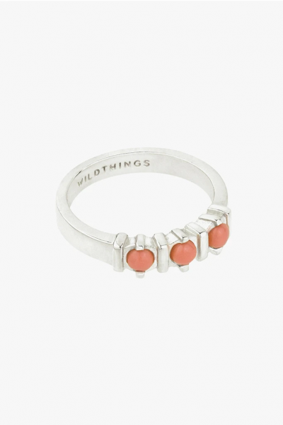 Wildthings: Modell 'Vintage Peach Ring - Silver'