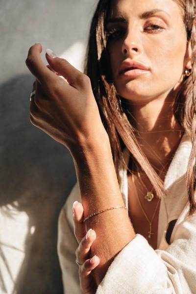 Zinnia Bracelet- Gold