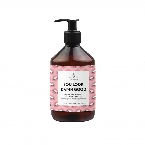 The Gift Label: Modell 'Handsoap - You look damn good'