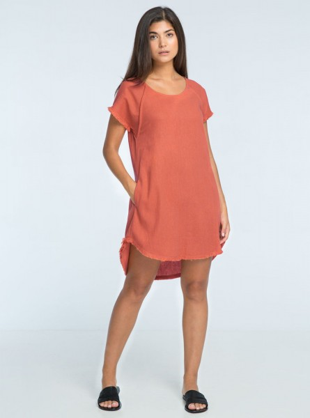 Buddha Wear: Modell 'Audy Mini Dress - Blush'