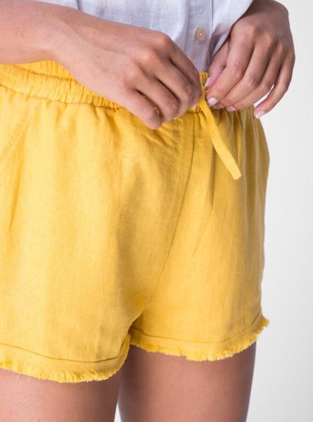 Buddha Wear: Modell 'Georgina Shorts - Sunflower'