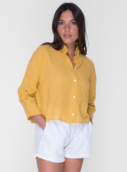 Buddha Wear: Modell 'Sally Blouse - Sunflower'