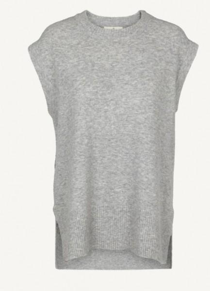 Basic Apparel: Modell 'Berit Vest - Beige melange'