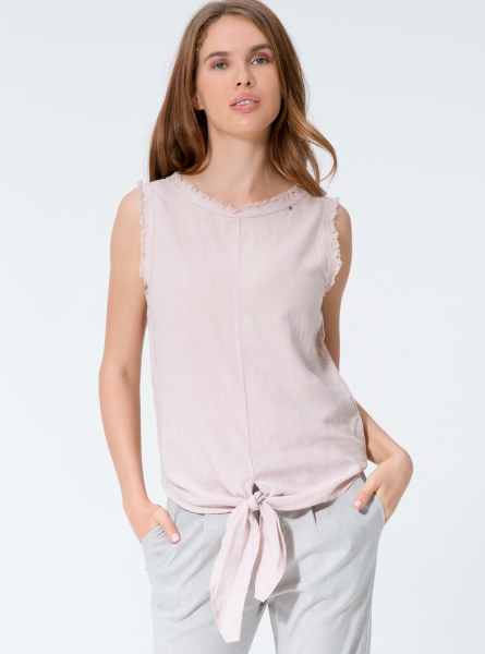 Buddha Wear: Modell 'Cosima Blouse - New Rose'