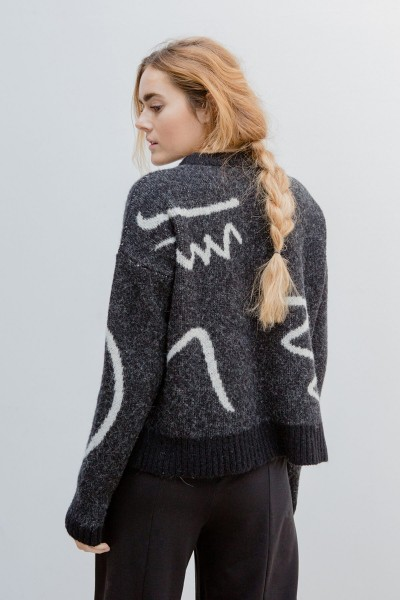 Suite 13: Modell 'Loy Sweater - Bicolor'