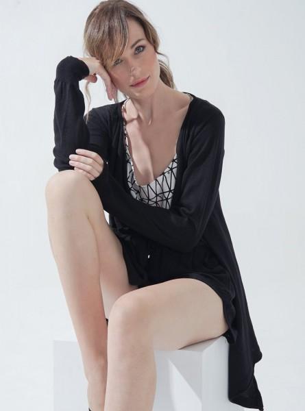 Buddha Wear: Modell 'Helen Cardigan - Black'