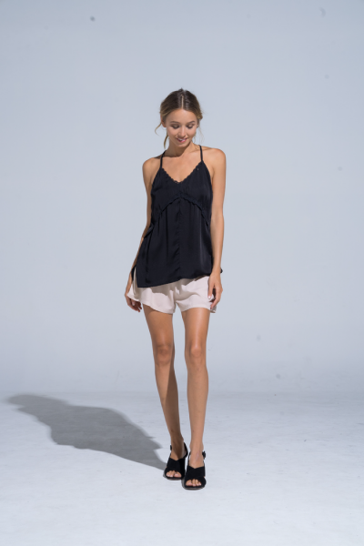 Buddha Wear: Modell 'Saphrina Singlet - Black'