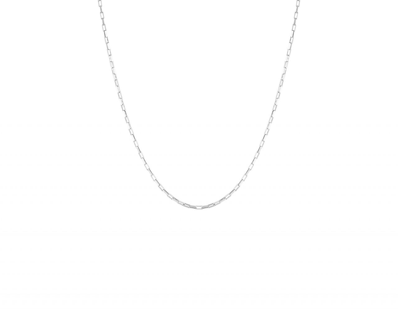 Flawed: Modell 'Zinnia NecklaceLong - Silber'