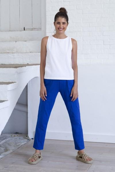Suite 13: Modell 'Adiri Pants - Mazarine Blue'