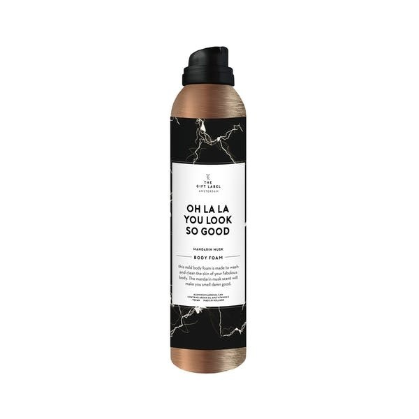 The Gift Label: Modell 'Body Foam - Oh la la you look so good'