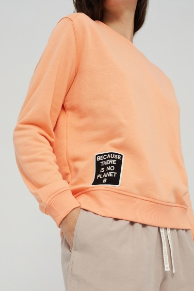 Ecoalf: Modell 'Belen Pach Sweater Woman - Peach'