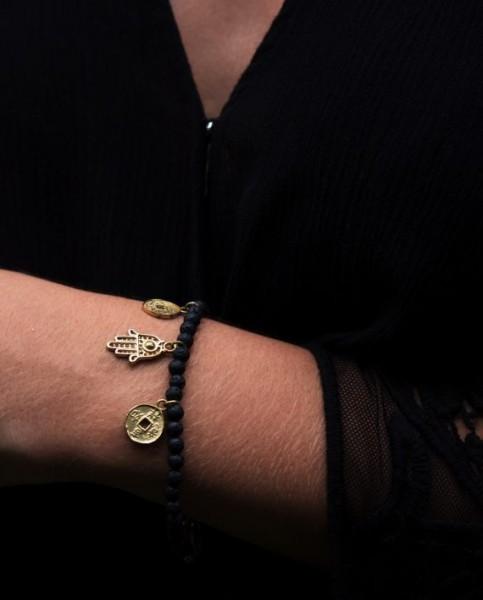 Api Charm Bracelet - Gold