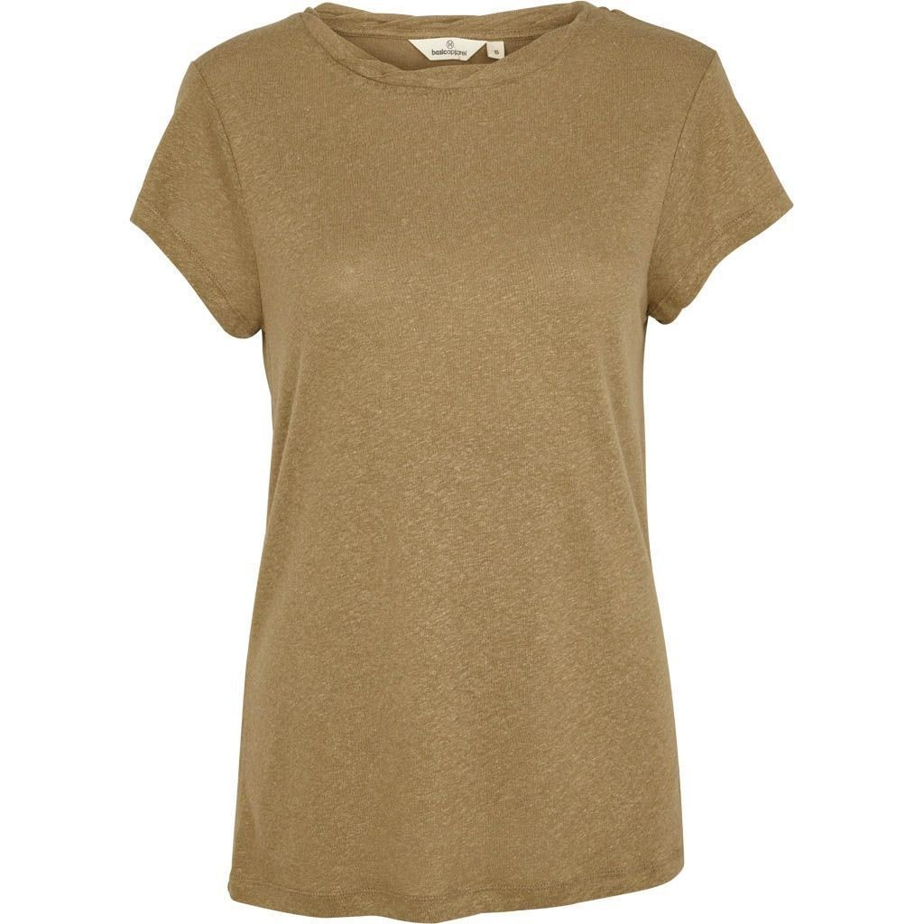 Basic Apparel: Modell 'Alaya Shirt - Covert Green'