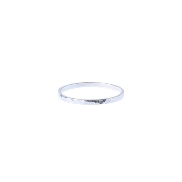 Lilian Facetted Ring - Silver