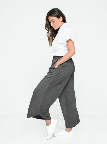 Buddha Wear: Modell 'Daru 7/8 Pants - Vintage Grey'